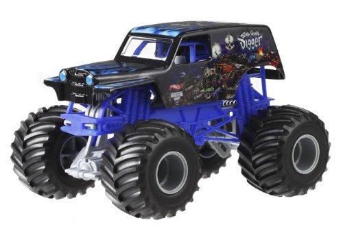 ホットウィール マテル ミニカー ホットウイール CCB12 【送料無料】Hot Wheels Monster Jam Son Uva Digger Die-Cast Vehicle, 1:24 Scaleホットウィール マテル ミニカー ホットウイール CCB12