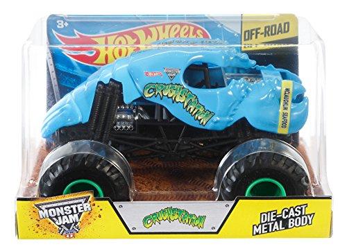 ホットウィール マテル ミニカー ホットウイール CGD82 【送料無料】Hot Wheels Monster Jam Crushstation Die-Cast Vehicle 1:24 Scale, Blueホットウィール マテル ミニカー ホットウイール CGD82