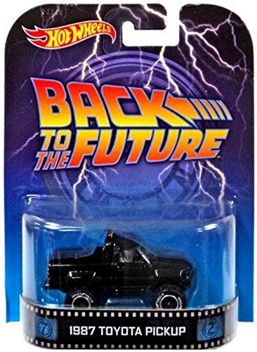 ホットウィール マテル ミニカー ホットウイール 【送料無料】Hot Wheels 2014 Retro Series Back to the Future 1987 Toyota Pickup Die-Cast Vehicleホットウィール マテル ミニカー ホットウイール