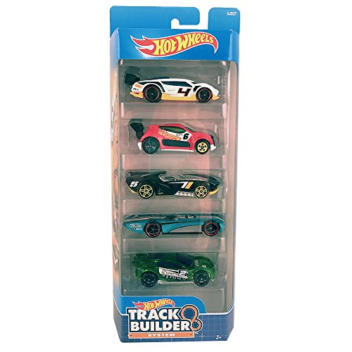 ホットウィール マテル ミニカー ホットウイール 【送料無料】Hot Wheels, 2016 Track Builder 5-Pack (Version 2)ホットウィール マテル ミニカー ホットウイール