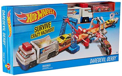 ホットウィール マテル ミニカー ホットウイール DWK84 【送料無料】Hot Wheels Daredevil Derby Playsetホットウィール マテル ミニカー ホットウイール DWK84