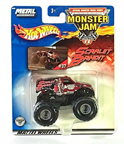 ホットウィール マテル ミニカー ホットウイール 【送料無料】Hot Wheels 2003 Monster Jam #37 Scarlet Bandit 1:64 Scale Die-Cast Monster Truckホットウィール マテル ミニカー ホットウイール