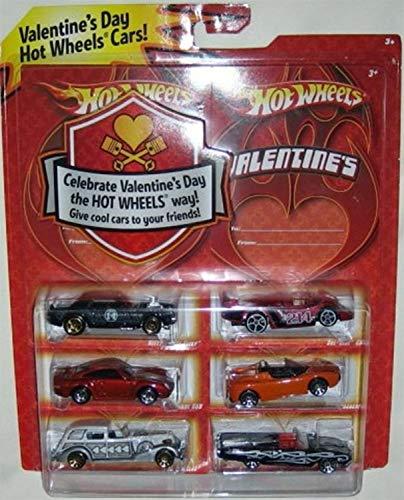 ホットウィール マテル ミニカー ホットウイール 【送料無料】2009 Hot Wheels Valentine Day Exclusive Special Edition Set of 6 Die Cast 1:64 Scale Cars by Mattelホットウィール マテル ミニカー ホットウイール