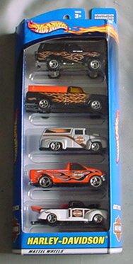 ホットウィール マテル ミニカー ホットウイール Hot Wheels Harley-Davidson Gift Pack 5 Car Set Truckホットウィール マテル ミニカー ホットウイール