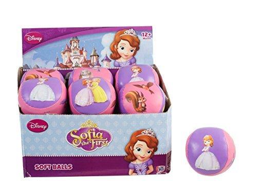 ちいさなプリンセス ソフィア ディズニージュニア Disney Junior Sofia Party Soft Soccer Play Ball 9cm Fun Girl Gift Toddler by Concept4uちいさなプリンセス ソフィア ディズニージュニア