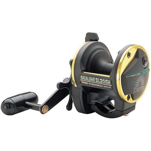 リール Daiwa ダイワ 釣り道具 フィッシング Sealine SL-H Conventional Reel, RH, 4BB, 6.1:1 Ratio, Composite Spool, Mono 12/380, 14/300リール Daiwa ダイワ 釣り道具 フィッシング
