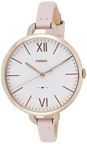 フォッシル 腕時計 レディース ES4356 【送料無料】Fossil Women's Annette Stainless Steel Quartz Watch with Leather Calfskin Strap, Pink, 7 (Model: ES4356)フォッシル 腕時計 レディース ES4356