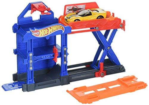 ホットウィール マテル ミニカー ホットウイール DWL02 【送料無料】Hot Wheels Robo-Lift Speed Shop Playsetホットウィール マテル ミニカー ホットウイール DWL02
