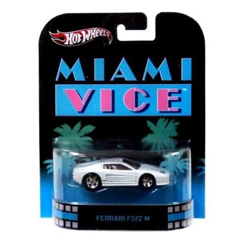 ホットウィール マテル ミニカー ホットウイール 【送料無料】Hot Wheels Miami Vice Ferrari F512M Die Cast Carホットウィール マテル ミニカー ホットウイール