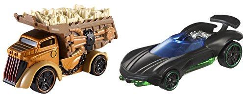 ホットウィール マテル ミニカー ホットウイール DJM07 【送料無料】Hot Wheels Star Wars Character 2 Carホットウィール マテル ミニカー ホットウイール DJM07