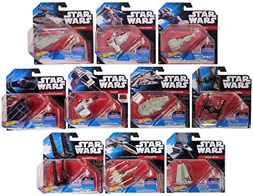 ホットウィール マテル ミニカー ホットウイール Star Wars Hot Wheels Navigator Starship Die-Cast Toy Vehicle (Set of 10) 2016ホットウィール マテル ミニカー ホットウイール