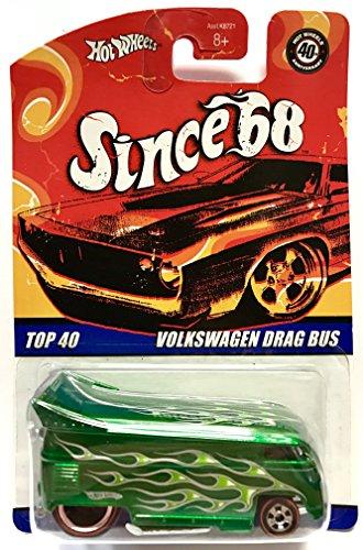 ホットウィール マテル ミニカー ホットウイール 【送料無料】Hot Wheels Since 68 Top 40 Volkswagen Drag Busホットウィール マテル ミニカー ホットウイール