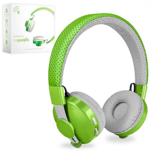 海外輸入ヘッドホン ヘッドフォン イヤホン 海外 輸入 LGUT-06-GR LilGadgets Untangled PRO Kids Premium Wireless Bluetooth Headphones with SharePort (Children) - Green海外輸入ヘッドホン ヘッドフォン イヤホン 海外 輸入 LGUT-06-GR