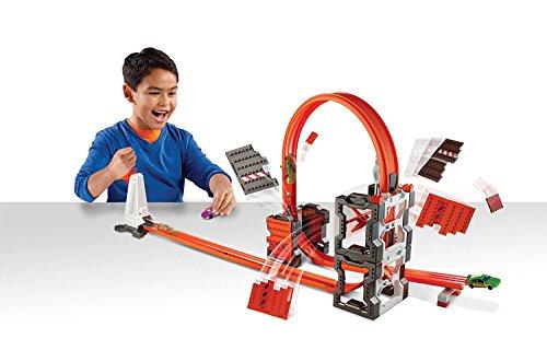ホットウィール マテル ミニカー ホットウイール DWW96 Hot Wheels Track Builder Construction Crash Kitホットウィール マテル ミニカー ホットウイール DWW96