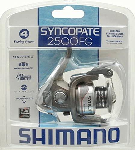リール Shimano シマノ 釣り道具 フィッシング 022255120319 【送料無料】Shimano Syncopate 2500 Front Drag Clam Reelリール Shimano シマノ 釣り道具 フィッシング 022255120319