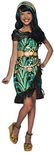 モンスターハイ 衣装 コスチューム コスプレ 610269_L Rubies Monster High Fright Camera Action Cleo de Nile Costume, Child Largeモンスターハイ 衣装 コスチューム コスプレ 610269_L
