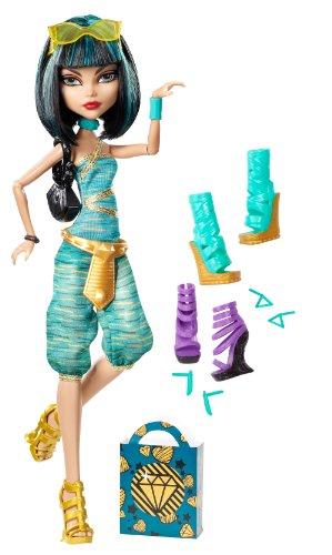 モンスターハイ 人形 ドール BBR92 【送料無料】Monster High Cleo De Nile Doll & Shoe Collectionモンスターハイ 人形 ドール BBR92