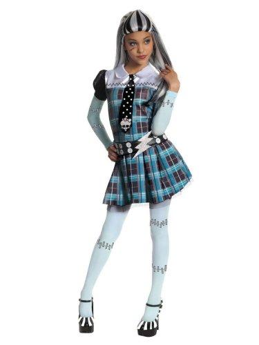 モンスターハイ 衣装 コスチューム コスプレ 【送料無料】Rubies Girls Monster High Frankie Stein Costume L (12-14)モンスターハイ 衣装 コスチューム コスプレ
