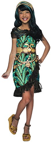 モンスターハイ 衣装 コスチューム コスプレ 610269_M Rubies Monster High Fright Camera Action Cleo de Nile Costume, Child Mediumモンスターハイ 衣装 コスチューム コスプレ 610269_M