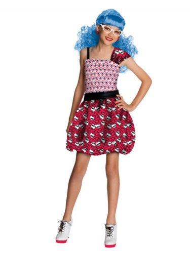 モンスターハイ 衣装 コスチューム コスプレ 【送料無料】Rubies Girls Monster High Ghoulia Yelps Daughter of the Zombies Costume M (8-10)モンスターハイ 衣装 コスチューム コスプレ