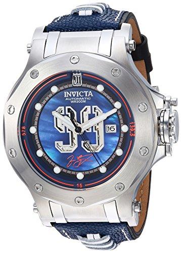 インヴィクタ インビクタ 腕時計 メンズ 25321 【送料無料】Invicta Men's JT Stainless Steel Automatic-self-Wind Watch with Leather Calfskin Strap, Black, 24.8 (Model: 25321)インヴィクタ インビクタ 腕時計 メンズ 25321