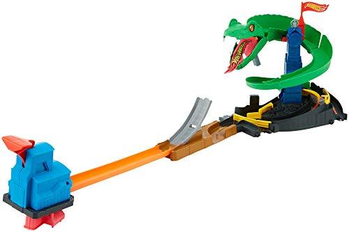 ホットウィール マテル ミニカー ホットウイール FNB20 【送料無料】Hot Wheels City Cobra Crush Playsetホットウィール マテル ミニカー ホットウイール FNB20