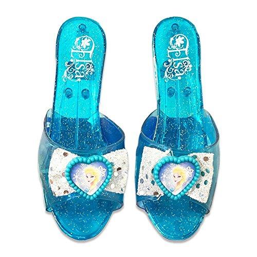 アナと雪の女王 アナ雪 ディズニープリンセス フローズン 82111 【送料無料】Disney Frozen Blue Elsa Shoes 7