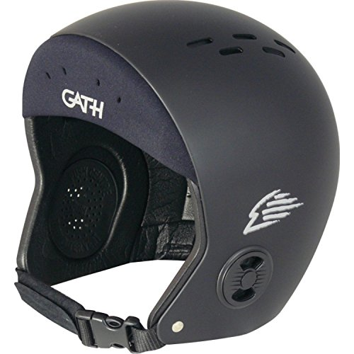 ウォーターヘルメット 安全 マリンスポーツ サーフィン ウェイクボード Gath Neo Sport Hat Helmet-Black - Sウォーターヘルメット 安全 マリンスポーツ サーフィン ウェイクボード