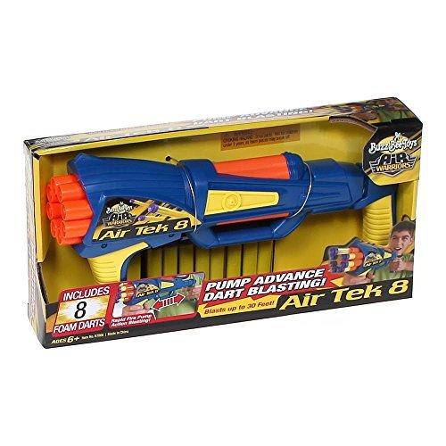 バズビー ブラスター アメリカ 直輸入 ソフトダーツ Buzz Bee Toys Air Tek 8 with Foam Darts by Air Warriorsバズビー ブラスター アメリカ 直輸入 ソフトダーツ