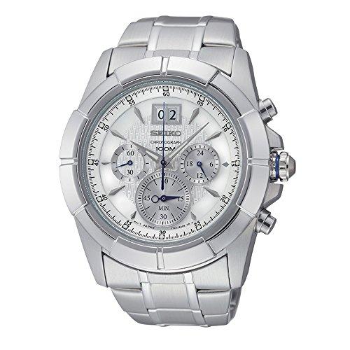 セイコー 腕時計 メンズ SPC107P1 【送料無料】Seiko Mens Chronograph Analog Dress Quartz Watch NWT SPC107P1セイコー 腕時計 メンズ SPC107P1