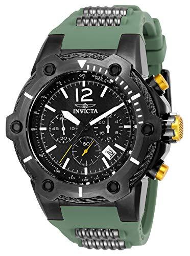 腕時計 インヴィクタ インビクタ ボルト メンズ 25471 【送料無料】Invicta Men's Bolt Stainless Steel Quartz Watch with Polyurethane Strap, Green, 23.5 (Model: 25471)腕時計 インヴィクタ インビクタ ボルト メンズ 25471