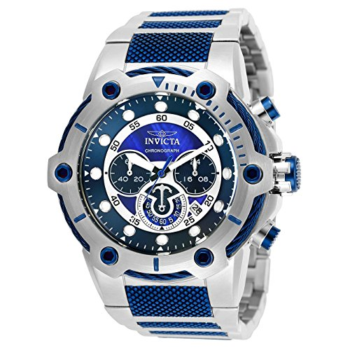 インヴィクタ インビクタ ボルト 腕時計 メンズ 25462 Invicta Men's Bolt Analog Quartz Watch with Stainless Steel Strap, Silver, 30 (Model: 25462インヴィクタ インビクタ ボルト 腕時計 メンズ 25462