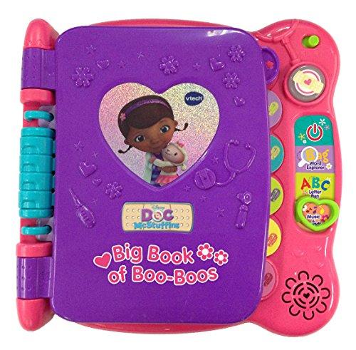 ドックはおもちゃドクター ディズニーチャンネル ドックのおもちゃびょういん 80-160400 【送料無料】VTech Disney Doc McStuffins Discover and Learn Big Book of Boo-Booドックはおもちゃドクター ディズニーチャンネル ドックのおもちゃびょういん 80-160400