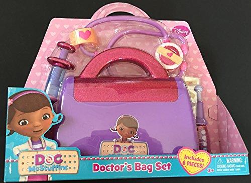 ドックはおもちゃドクター ディズニーチャンネル ドックのおもちゃびょういん 【送料無料】Disney Doc McStuffins 6 Piece Doctors Bag Setドックはおもちゃドクター ディズニーチャンネル ドックのおもちゃびょういん