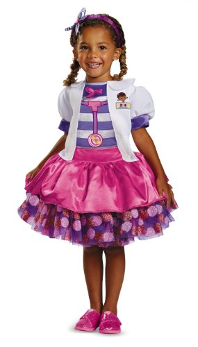 ドックはおもちゃドクター ディズニーチャンネル ドックのおもちゃびょういん 69812M Disney Doc Mcstuffins Tutu Deluxe Toddler Costume, Medium/3T-4Tドックはおもちゃドクター ディズニーチャンネル ドックのおもちゃびょういん 69812M