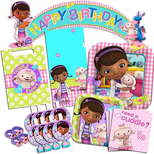 ドックはおもちゃドクター ディズニーチャンネル ドックのおもちゃびょういん 【送料無料】Disney Doc McStuffins Party Supplies Ultimate Set-- Birthday Party Favors, Plates, Napドックはおもちゃドクター ディズニーチャンネル ドックのおもちゃびょういん