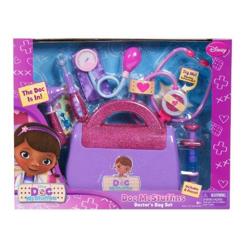 ドックはおもちゃドクター ディズニーチャンネル ドックのおもちゃびょういん Doc Mcstuffins Doctor's Bag exclusive Gift Set with Doc Mcstuffins Doll & Sounds Light Stethoscopeドックはおもちゃドクター ディズニーチャンネル ドックのおもちゃびょういん