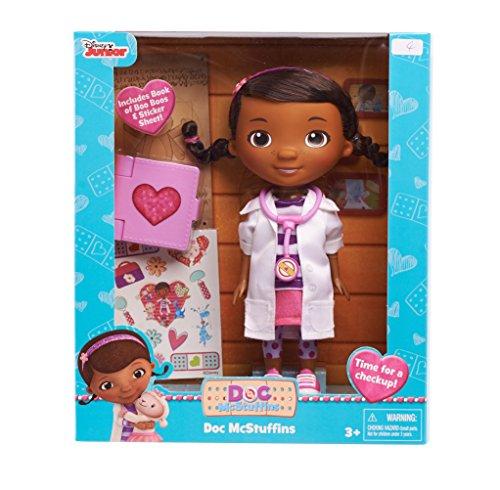 ドックはおもちゃドクター ディズニーチャンネル ドックのおもちゃびょういん 92067 【送料無料】Just Play Disney Doc McStuffins Physician Doc Doll with Big Bookドックはおもちゃドクター ディズニーチャンネル ドックのおもちゃびょういん 92067