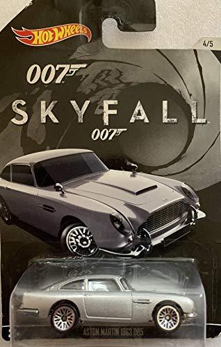 ホットウィール マテル ミニカー ホットウイール 【送料無料】Hot Wheels, 2015 Exclusive James Bond 007, Skyfall 1963 Aston Martin DB5 Silver 4/5ホットウィール マテル ミニカー ホットウイール