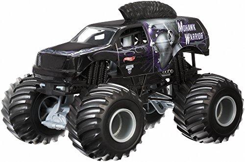 ホットウィール マテル ミニカー ホットウイール CBY62 Hot Wheels Monster Jam Mohawk Warrior Die-Cast Vehicle, 1:24 Scaleホットウィール マテル ミニカー ホットウイール CBY62
