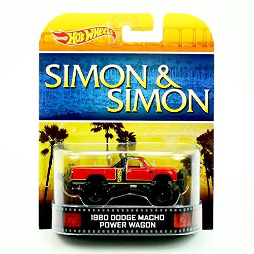 ホットウィール マテル ミニカー ホットウイール NA 【送料無料】1980 DODGE MACHO POWER WAGON SIMON & SIMON Hot Wheels 2013 Retro Series Die Cast Vehicleホットウィール マテル ミニカー ホットウイール NA