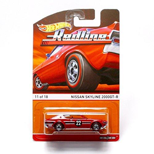 ホットウィール マテル ミニカー ホットウイール NISSAN SKYLINE 2000GT-R (11 of 18) * Redlines / Heritage Series * 2015 Hot Wheels 1:64 Scale Die-Cast Vehicleホットウィール マテル ミニカー ホットウイール