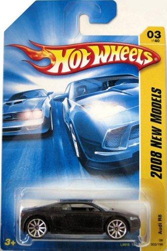 ホットウィール マテル ミニカー ホットウイール L9918 1L Hot Wheels Audi R8 Black die-cast 1:64 scaleホットウィール マテル ミニカー ホットウイール L9918 1L
