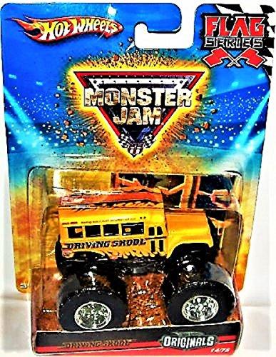 ホットウィール マテル ミニカー ホットウイール 【送料無料】Hot Wheels Originals 2010 1:64 Scale Monster Jam DRIVING SKOOL Bus Truck 14/75ホットウィール マテル ミニカー ホットウイール