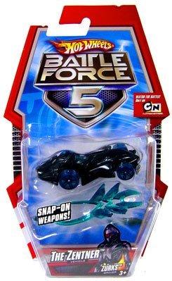 ホットウィール マテル ミニカー ホットウイール Hot Wheels Battle Force 5 THE ZENTNER Diecast Car 1:64 Scaleホットウィール マテル ミニカー ホットウイール