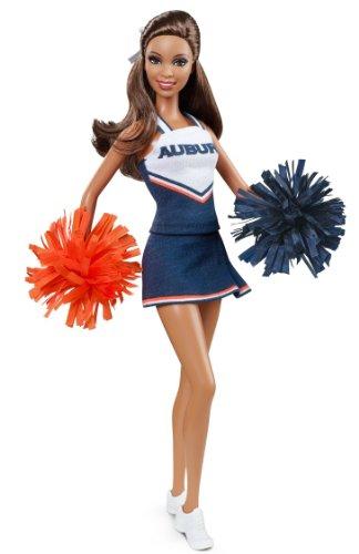 バービー バービー人形 大学 大学生 チアリーダー W3461 Barbie Collector Auburn University African-American Dollバービー バービー人形 大学 大学生 チアリーダー W3461