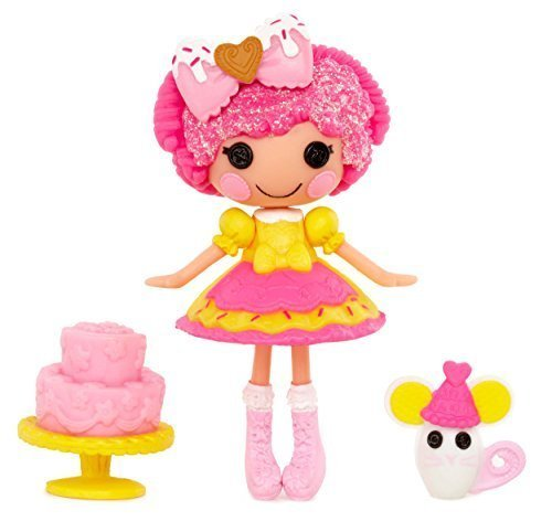 ララループシー 人形 ドール Import Rararupushi doll Doll Mini Lalaloopsy Super Silly Party Doll- Crumbs Sugar Cookie [parallel import goods]ララループシー 人形 ドール