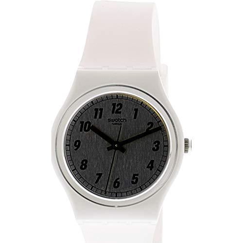 腕時計 スウォッチ レディース 夏の腕時計特集 GW194 【送料無料】Swatch Women's Something White GW194 Silicone Swiss Quartz Fashion Watch腕時計 スウォッチ レディース 夏の腕時計特集 GW194