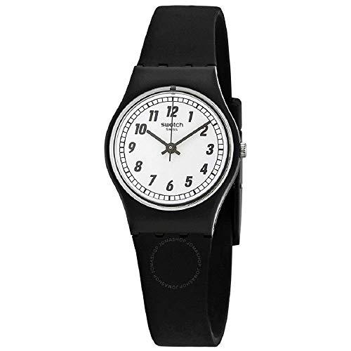 スウォッチ 腕時計 レディース 夏の腕時計特集 LB184 【送料無料】Swatch Women's Something Black LB184 Silicone Swiss Quartz Fashion Watchスウォッチ 腕時計 レディース 夏の腕時計特集 LB184