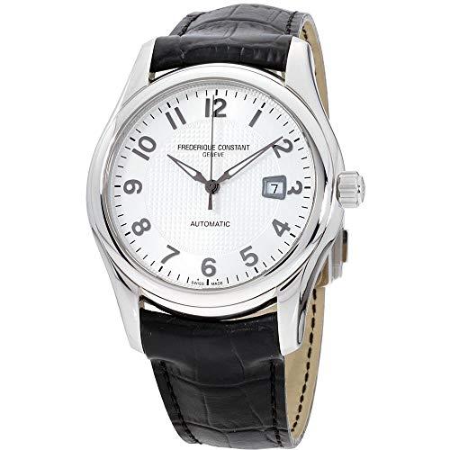 腕時計 フレデリックコンスタント メンズ FC-303RM6B6 【送料無料】Frederique Constant Men's FC-303RM6B6 Runabout Automatic Silver Dial Black Strap Watch腕時計 フレデリックコンスタント メンズ FC-303RM6B6